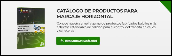 Catálogo de productos para Marcaje Horisontal