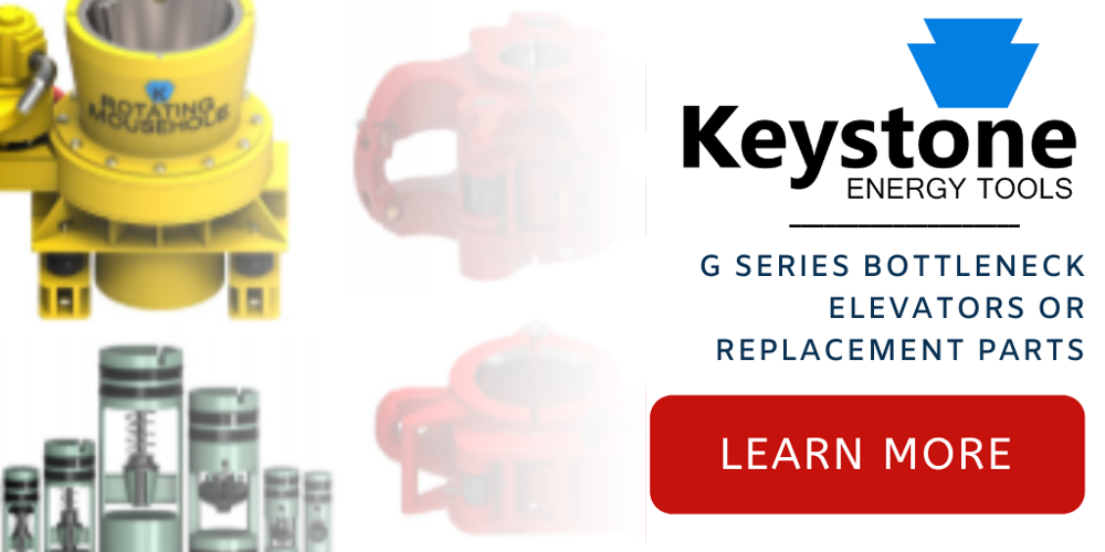 Keystone G Series Bottleneck Elevators or Replacement Parts