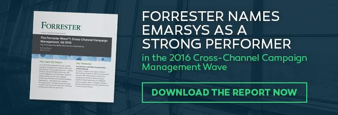 Forrester report cross channel campaign managment emarsys