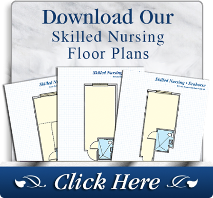 Download our skilled nursing floor plans