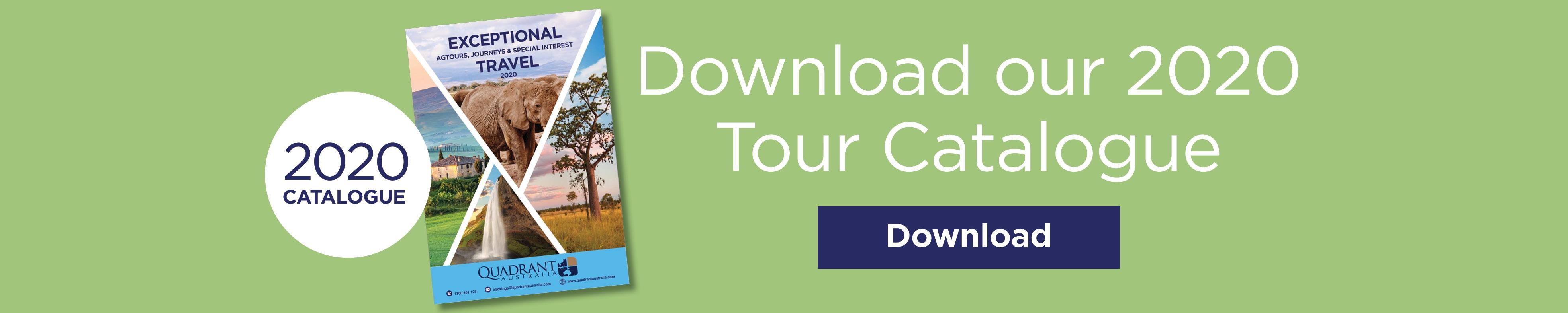 QUADRANT AUSTRALIA DOWNLOAD 2020 TOUR CATALGOUE
