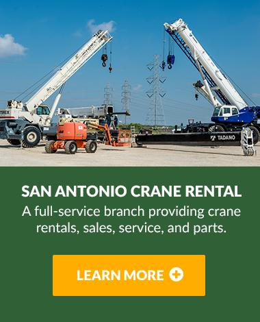 San Antonio Crane Rentals
