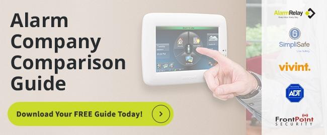 Download Your FREE Alarm Company Comparison Guide