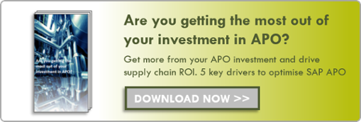 Are you getting the most out of your investment in APO?