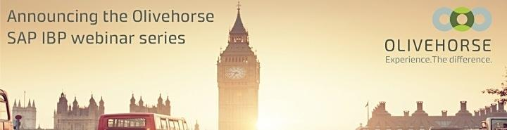 Olivehorse SAP IBP Webinar Series