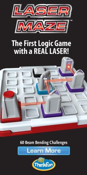 Laser Maze - The first logic game with a real laser!