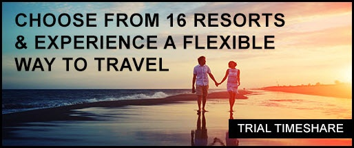 Choose from 16 resorts & experience a flexible way to travel