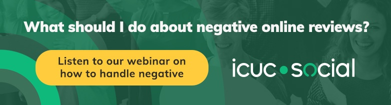 Webinar Recording: What You Should Do with Negative Online Reviews