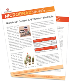 Nicrobraz Cement & 'S' Binder Shelf Life Thumbnail