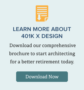 Download our comprehensive brochure to learn more about 401k X Design