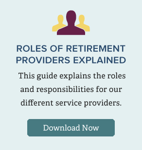 Roles of retirement providers explained