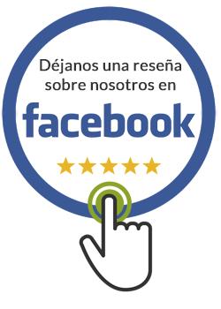 Déjanos una reseña en Facebook