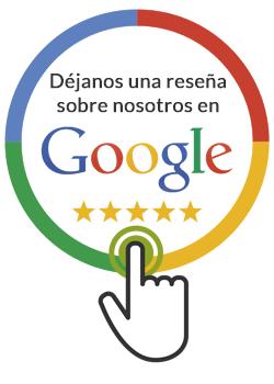 Déjanos una reseña en Google