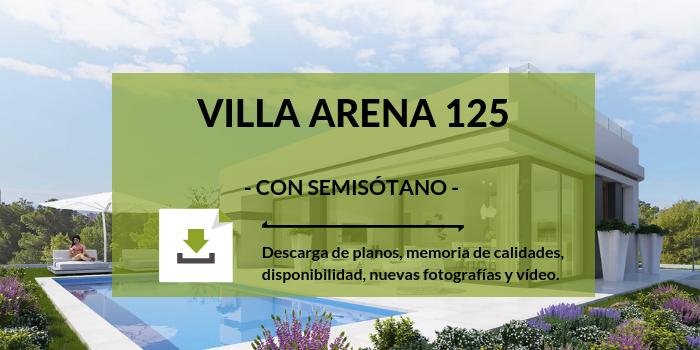 villa arena polop costa blanca