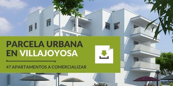 Parcela urbana en Villajoyosa