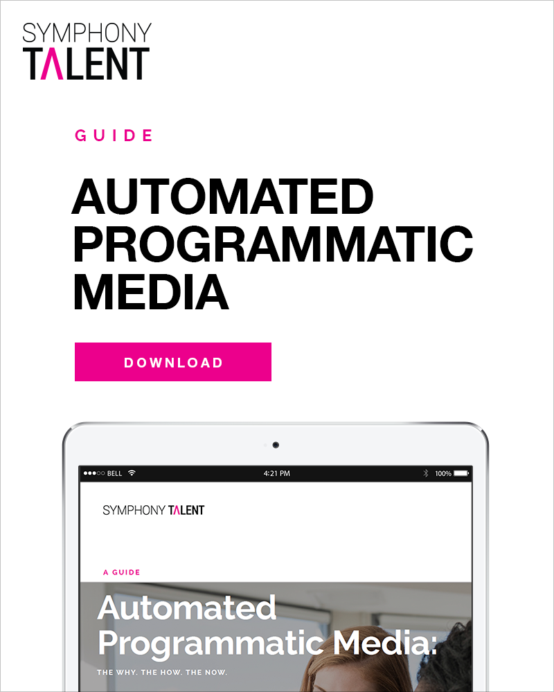 Symphony Talent - Automated Programmatic Media Guide