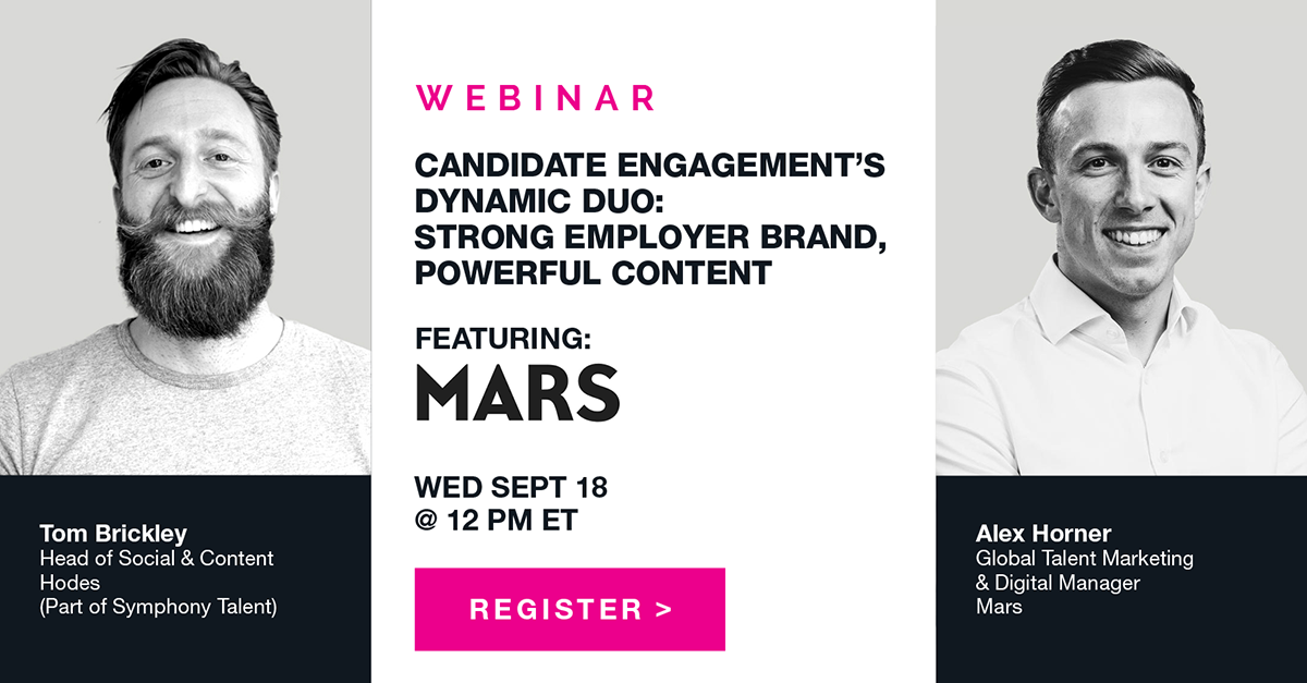 Symphony Talent Webinar Featuring Mars
