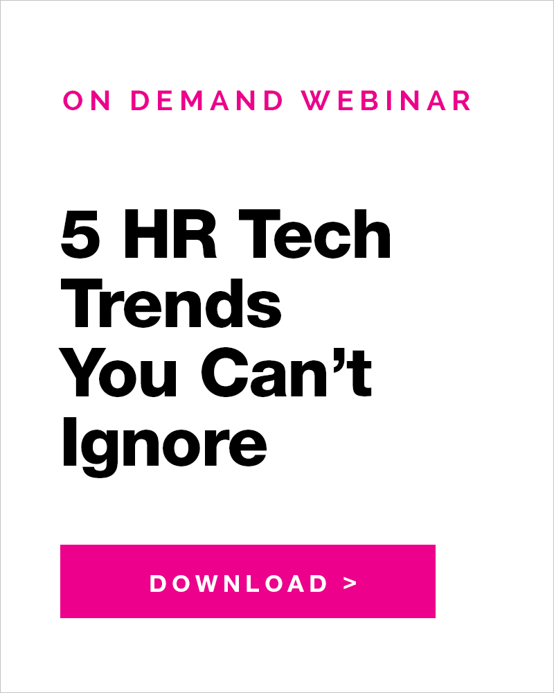 Symphony Talent HR Technology Trends Webinar