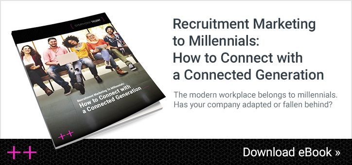 Recruitment marketing to millennials