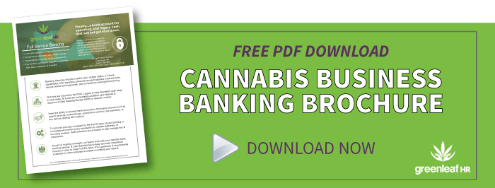 Greenleaf HR Cannabis Banking Services PDF