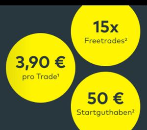 Banner für comdirect Depot - 50 Euro Neukundenprämie