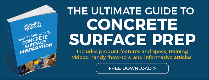 The Ultimate Guide to Concrete Surface Prep - FREE DOWNLOAD!