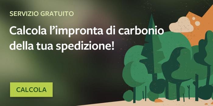 Calcola l'impronta di carbonio delle tue spedizioni