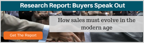 buyers speak about how sales must evolve in the modern age