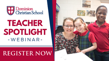Teacher Spotlight: Get to Know Faculty at Dominion Christian School
