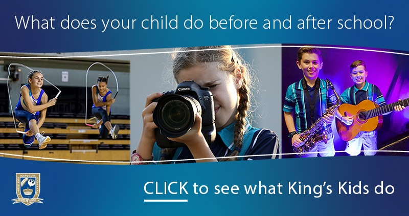 Click to see what extra-curricular activities are available to King's Kids