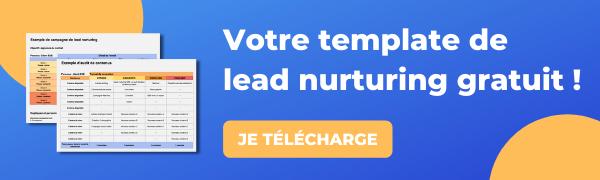 Template lead nurturing gratuit