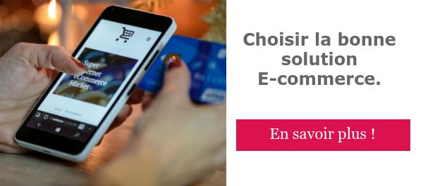 choisir la bonne solution E-commerce