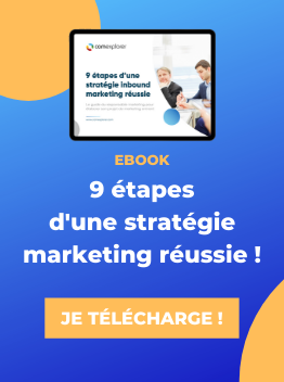 Ebook ComExplorer 9 etapes strategie inbound marketing