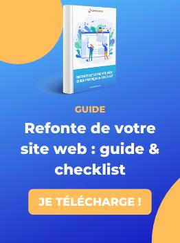 Guide refonte de site web - ComExplorer