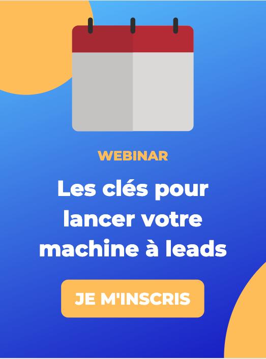 Inscription webinar machine à leads - ComExplorer