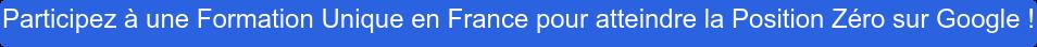 Participez à une Formation Unique en France pour atteindre la Position Zéro sur  Google !