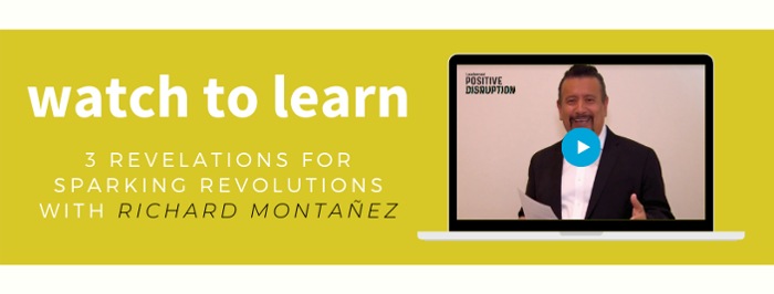 Leadercast 2020 — 3 Revelations for Sparking Revolutions with Richard Montañez