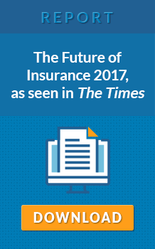 The Future of Insurance 2017, as seen in The Times.