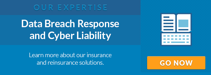 Our Expertise: Data Breach Response and Cyber Liability. Learn more about our insurance and reinsurance solutions.