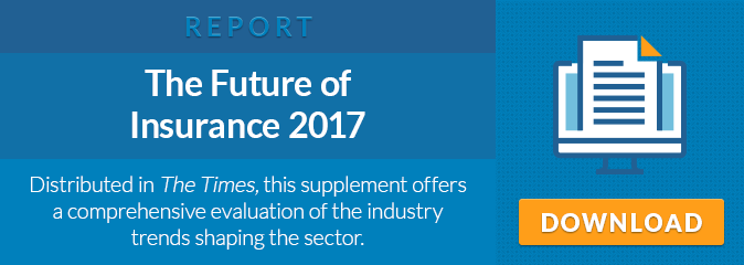 The Future of Insurance 2017. Distributed in The Times, this supplement offers a comprehensive evaluation of the industry trends shaping the sector.