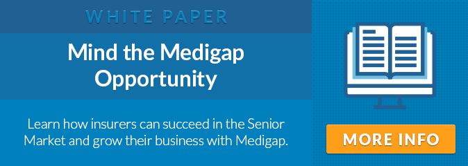 White Paper: Mind the Medigap Opportunity. Learn how insurers can succeed with the Senior Market and grow their business with Medigap.