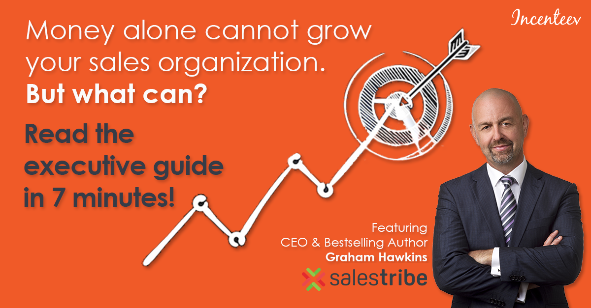 "Read the 7-Min Executive Guide, ""Quota-Crushing Sales Organizations"" (feat. CEO Graham Hawkins)"