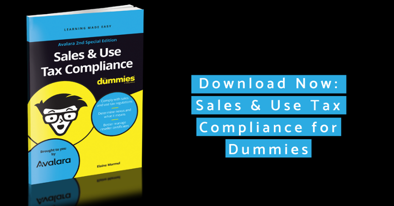 Sales Tax Compliance for Dummies