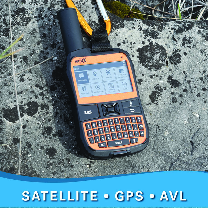 Satellite phones, GPS, AVL
