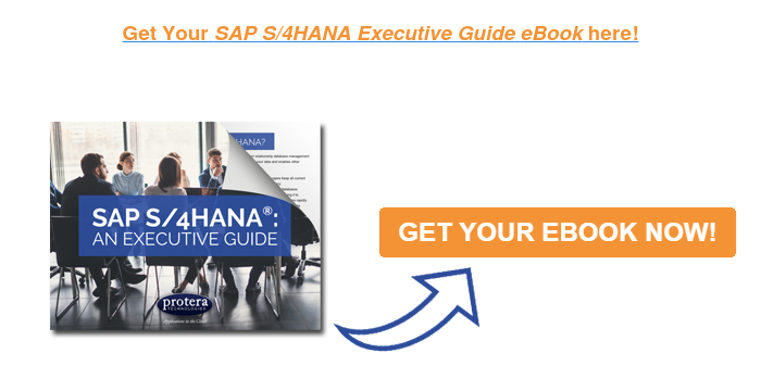 Get Your SAP S/4HANA Executive Guide eBook here!