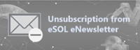 Unsubscription from eSOL eNewsletter