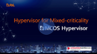[Demo video] Hypervisor for Mixed-criticality : eMCOS Hypervisor