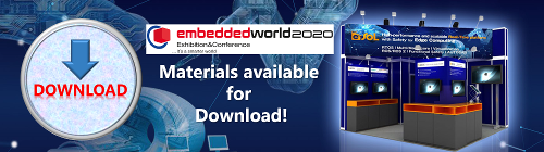 Download Materials of eSOL at Embedded World 2020