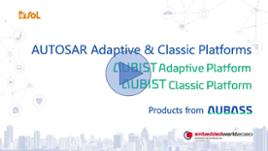 [Demo video] AUTOSAR Adaptive & Classic Platforms