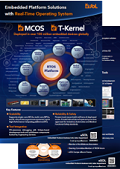 Leaflet: Embedded Platform Solutions with RTOS
